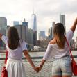 Anja i Lea u Americi