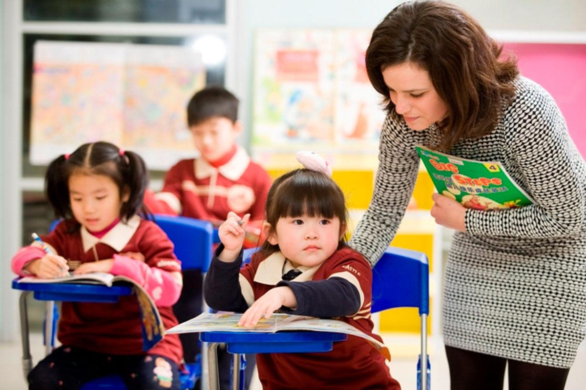 uciteljica u kini sa decom