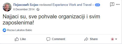 Pejakovic Bojan Experience
