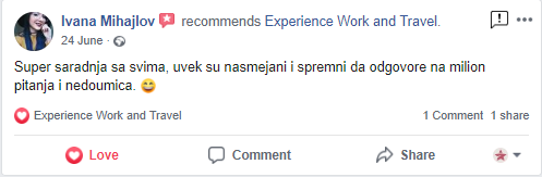 Ivana Mihajlov Experience